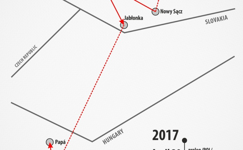 Karpacki Wyścig Kurierów: Z Małopolski na Węgry