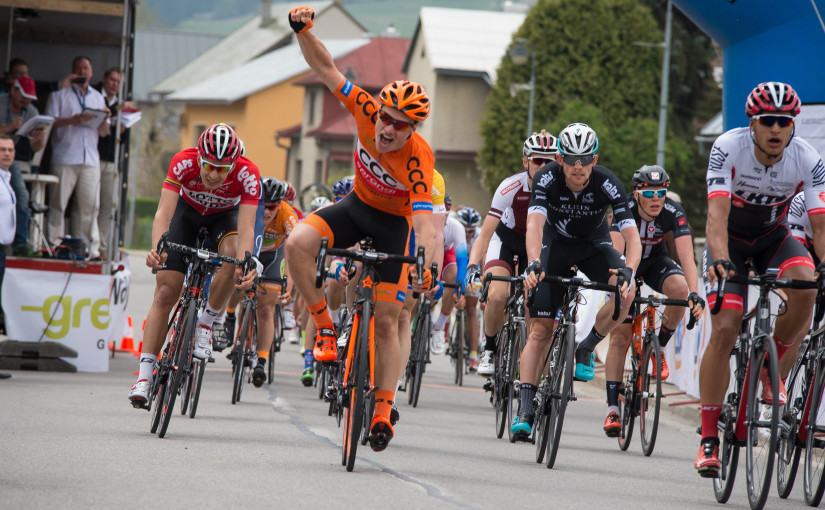 Michał Paluta powers to victory and race lead in Stara Bystrica